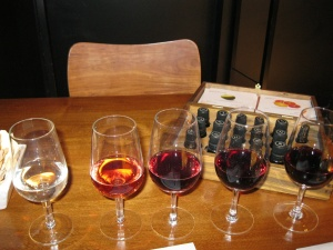 Wine tasting with a scent box at Vines of Mendoza