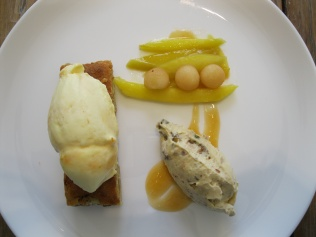Dessert at Chandon - plating too pretty not to be photographed