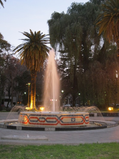 Plaza Chile, Mendoza