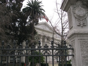 Old Chilean Congress building