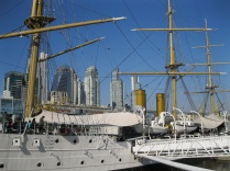 Training ship turned museum