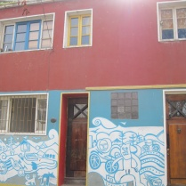 Painted house near Neruda's house
