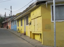 The houses in Bellavista are known to be brightly colored