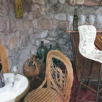 A view of one of the bars in Neruda's Santiago home