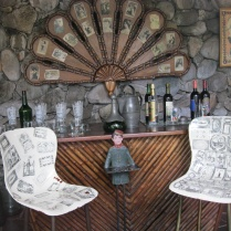 Another view of one of Neruda's quirky bars