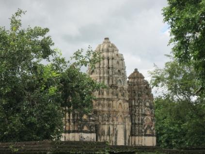 Khmer style Wat Si Sawai