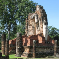 Another Wat in the northern section of Sukhothai
