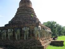 Sukhothai elephant Wat!