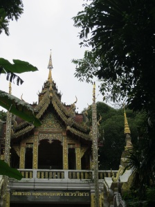 First view of the Doi Suthep complex