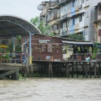 Chinatown stilt building