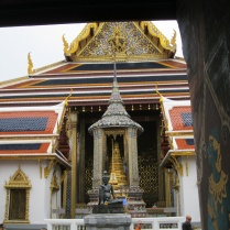 First temple in the complex of the Temple of the Emerald Buddha