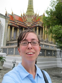 Me by the Temple of the Emerald Buddha