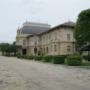 A very Western-looking building still used to house visiting heads of state