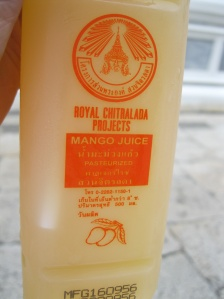Real mango juice, not mango nectar!