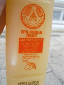 Real mango juice, not mango nectar!