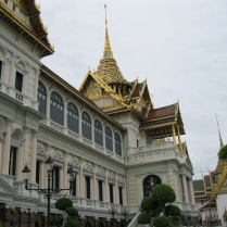 Closer view of the Grand Palace