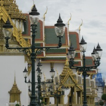 Grand Palace lampposts