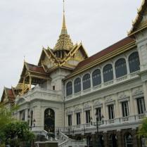 Looking back at the Palace