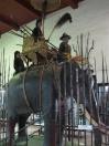 Life-sized elephant display