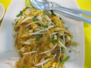 Pad Thai with glass noodles