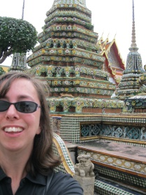 Awkward self-pic at Wat Pho