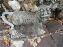 One of the many animal statues at Wat Pho