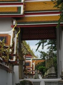 Wat Pho roofs