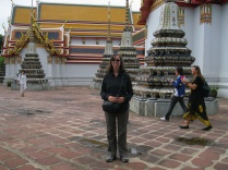 Me (and random others) at Wat Pho