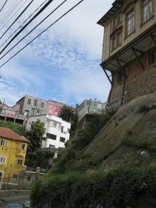 A cliffside school