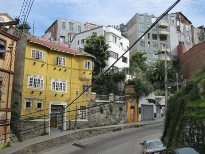 Just a normal steep street