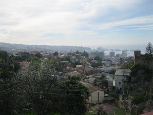 The view from the terrace of La Sebastiana