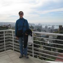 Me at La Sebastiana