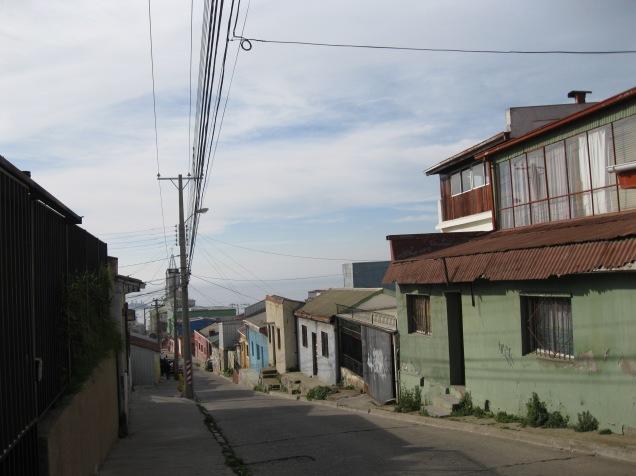 Walking back down the hill La Sebastiana is perched on