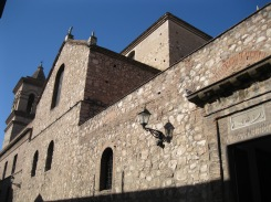 Side view of the church of the Manzana Jesuitica
