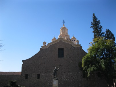 Back of Iglesia Catedral