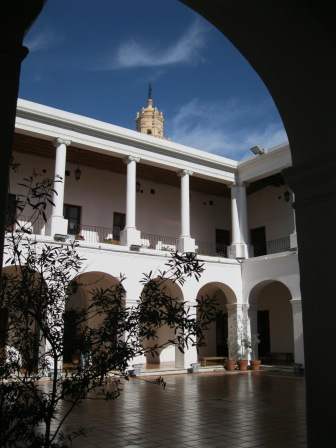 The courtyard of Cordoba's Cabildo (government building)
