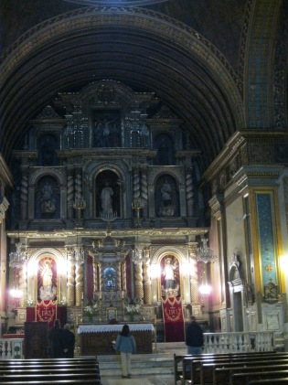Interior of the Church of the Manzana Jesuitica