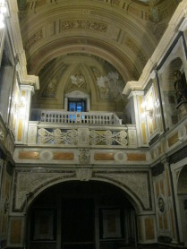 A chapel in the Manzana, designed to look like the Medici Chapel