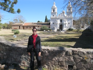 Me at the Estancia Santa Catalina