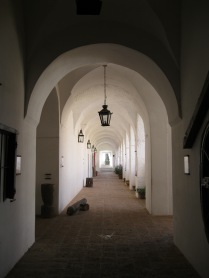 A corridor in the estancia