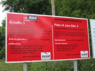 MAG sign at Jar Site 3