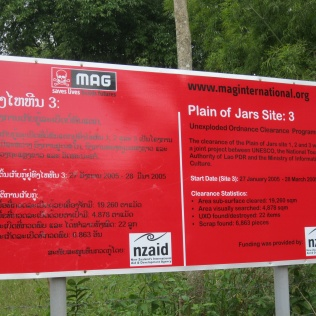 MAG sign at Jar Site 3