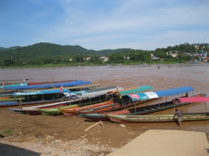 Crossing to Laos