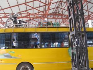 """The """"chicken bus"""""""
