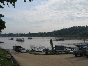 First view of the Mekong