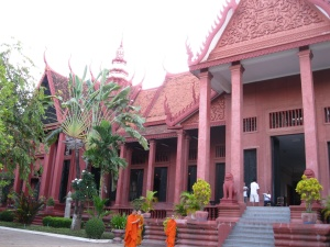 Monks Outside the National Museum