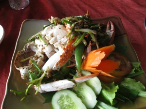 Crab with Kampot pepper