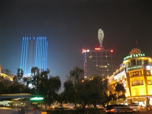 District One at night
