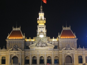 The HCMC People's Committee Building (former Hotel de Ville de Saigon)