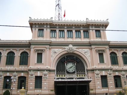 Central Post Office designed by Gustave Eiffel